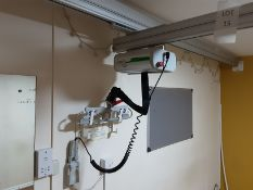 Likorall 200kg Patient Lift with KwikTrak Ceiling Rail System Serial No: 262025