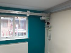 Likorall 242S 200kg Patient Lift with KwikTrak Ceiling Rail System Serial No: 262071
