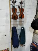 Violin with Case & Bow & Violin with Stentor Case & Bow (Used)