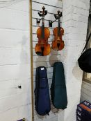 1/4 Violin with Bow & Case & Violin with Case (Used)