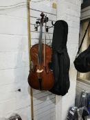 1/4 Hauer Violin with Case