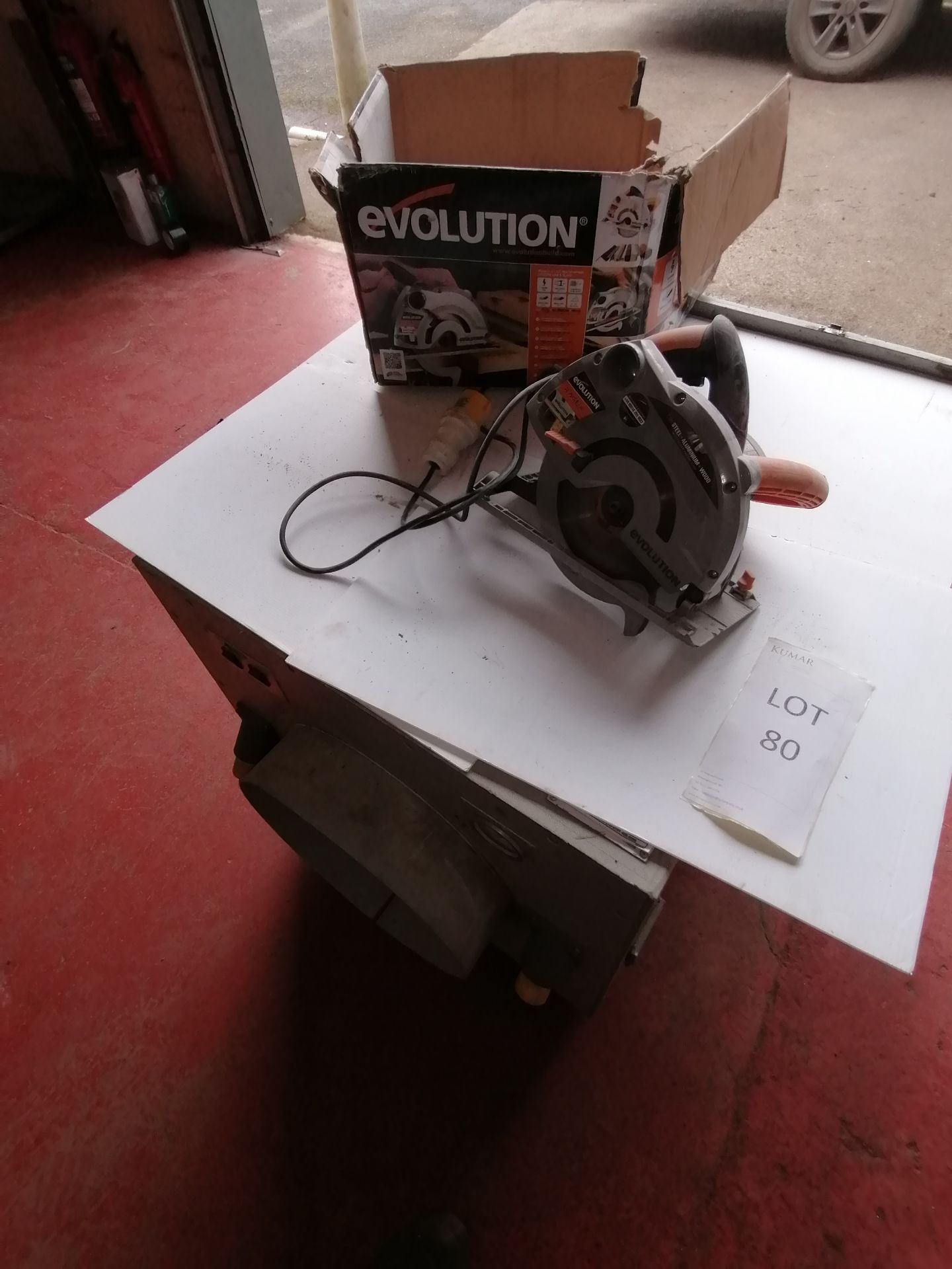 Evolution Multi Purpose Circular Saw. Model Ragea 185mm 110v