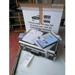 First Stop Annual Calibration Batt Pat Tester in Box with Certificate & Manuals
