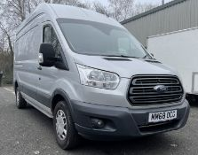Ford Transit 350, 1,995cc Diesel, 6 Speed Manual, MWB, High Roof Panel Van, Registration No. MM68