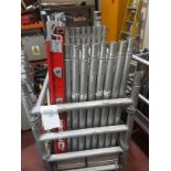 Mi Tower Easy Lock One Man Scaffold Tower with 4M Outriggers, Max Load on Platform 275Kg