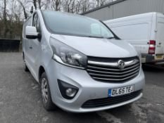 Vauxhall Vivaro 2700 Sportive L1 120 PS CDTI Bi Turbo ECO, 1,598cc Diesel, 6 Speed Manual Panel Van,