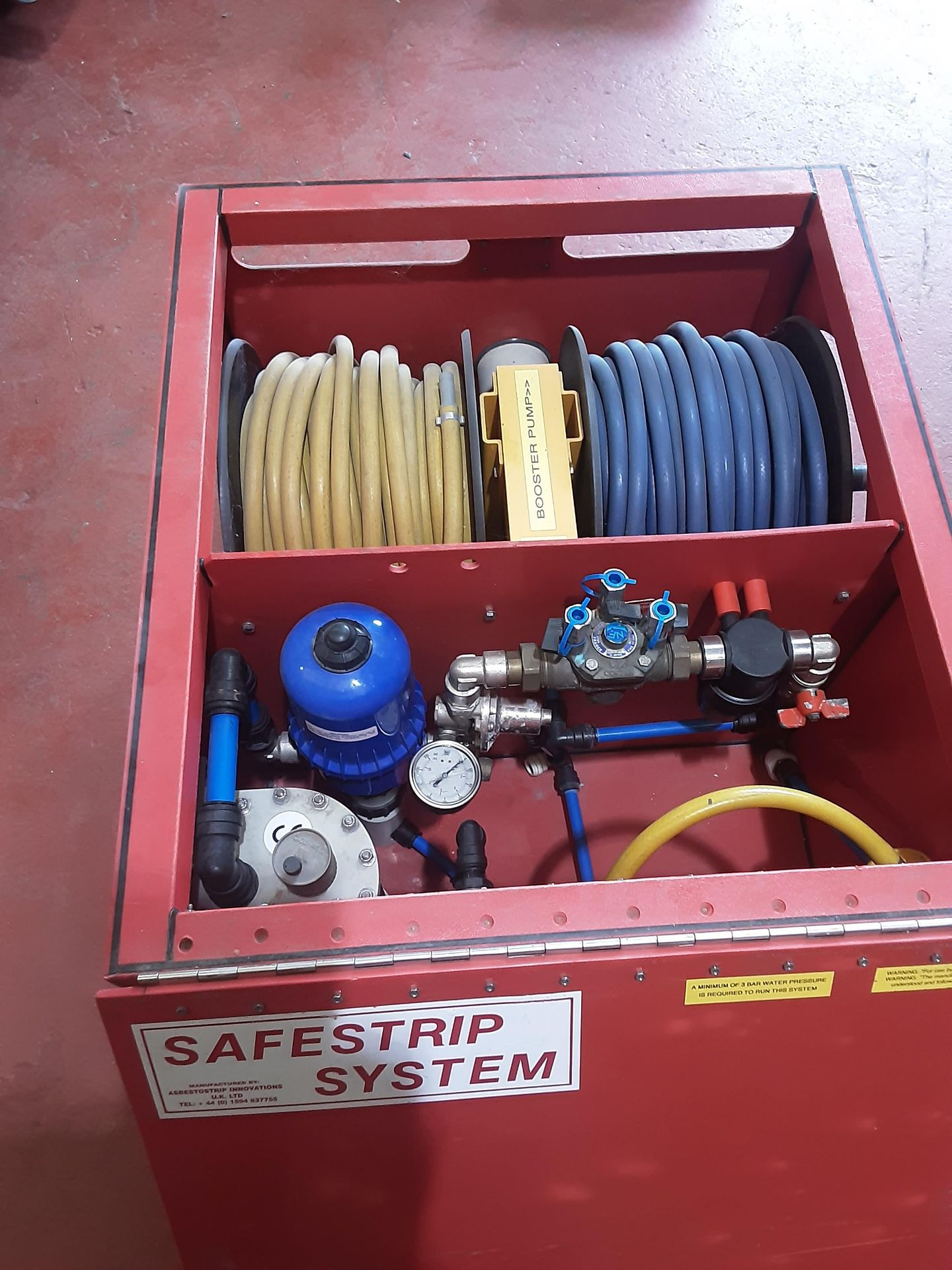 The Red Box Water Injection Machine & Accessories, Serial No. 6062, (2014) - Image 10 of 10
