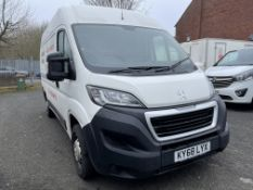 Peugeot Boxer Pro L2 H2 Blue Hdi, 1,997cc, 6 Speed Manual, Diesel Panel Van, Registration No. KY68