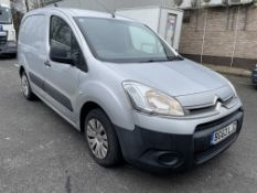 Citroen Berlingo L1 625 Enterprise 75PS, 1,560cc HDI, 5 Speed Manual, Diesel Panel Van, Registration