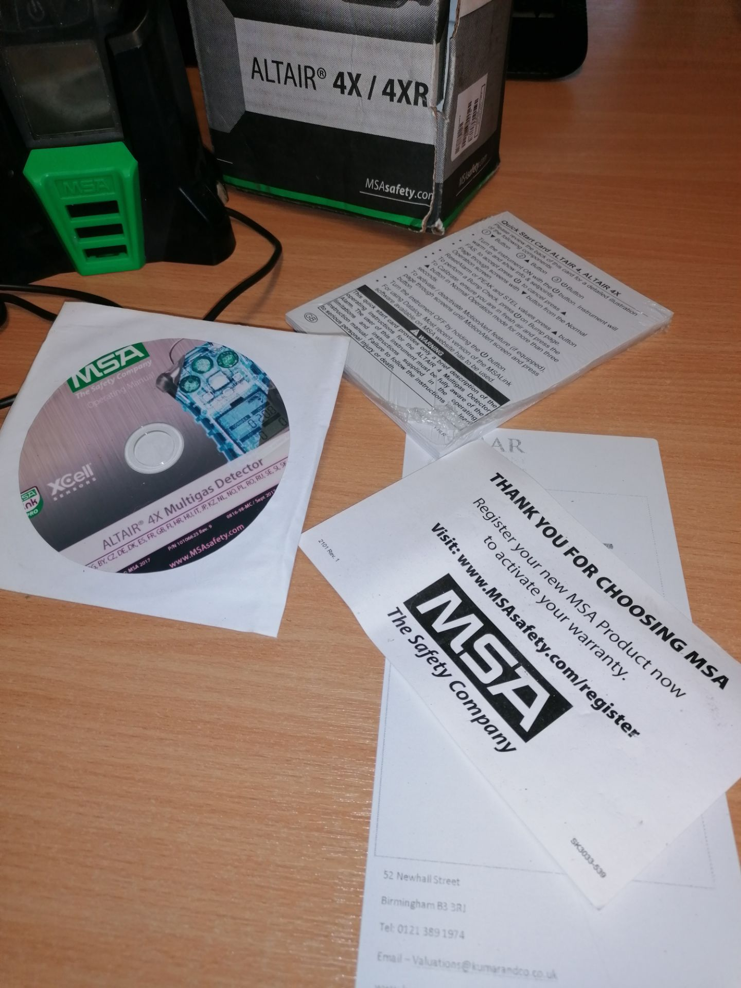 MSA Altair 4 Multi Gas Detector - Image 3 of 8