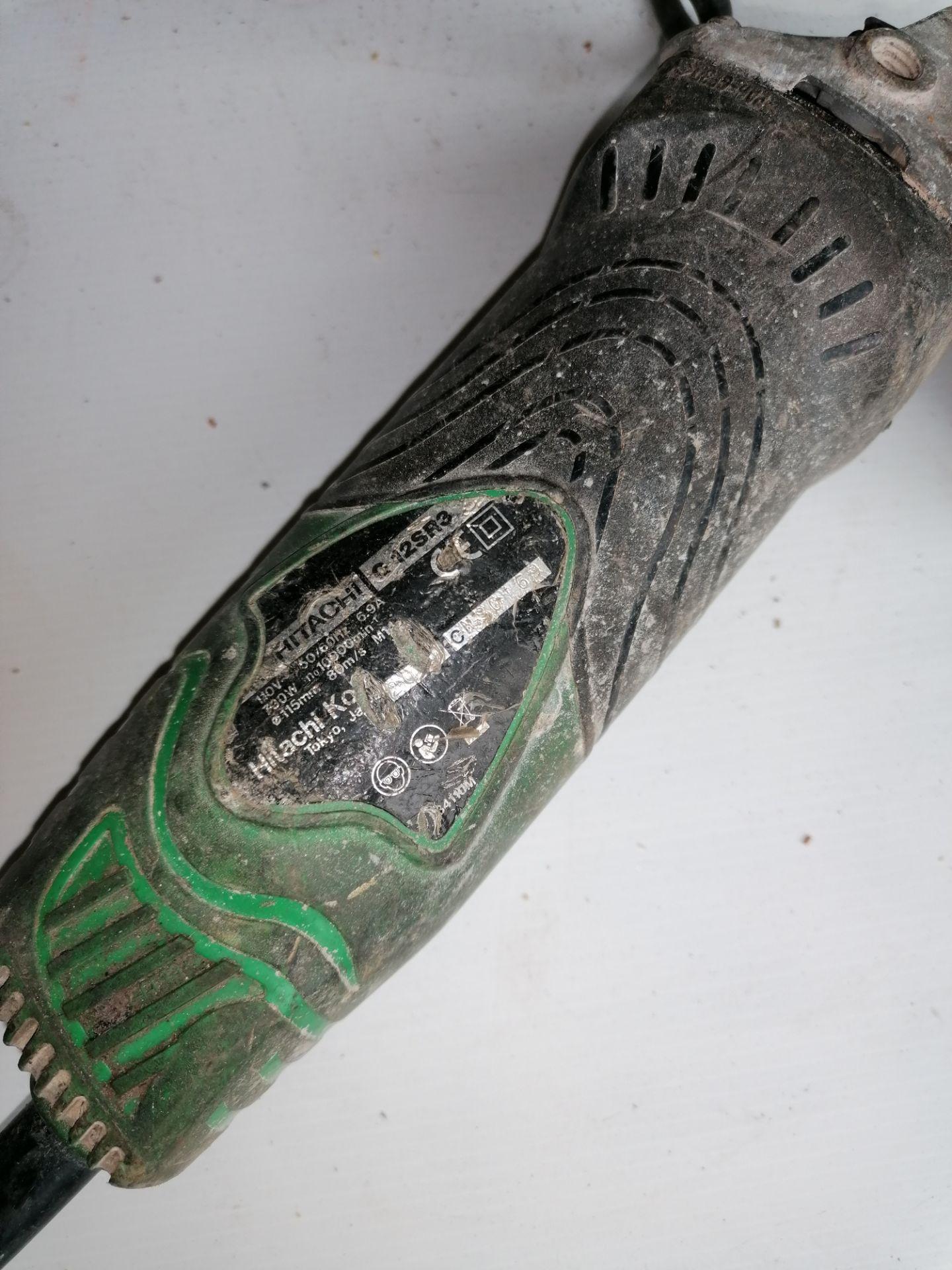 Hitachi Grinder 12SR3 Electric Grinder - Image 3 of 6