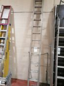 Titan Aluminium Extendable Ladders Approx 10ft x 2 sections