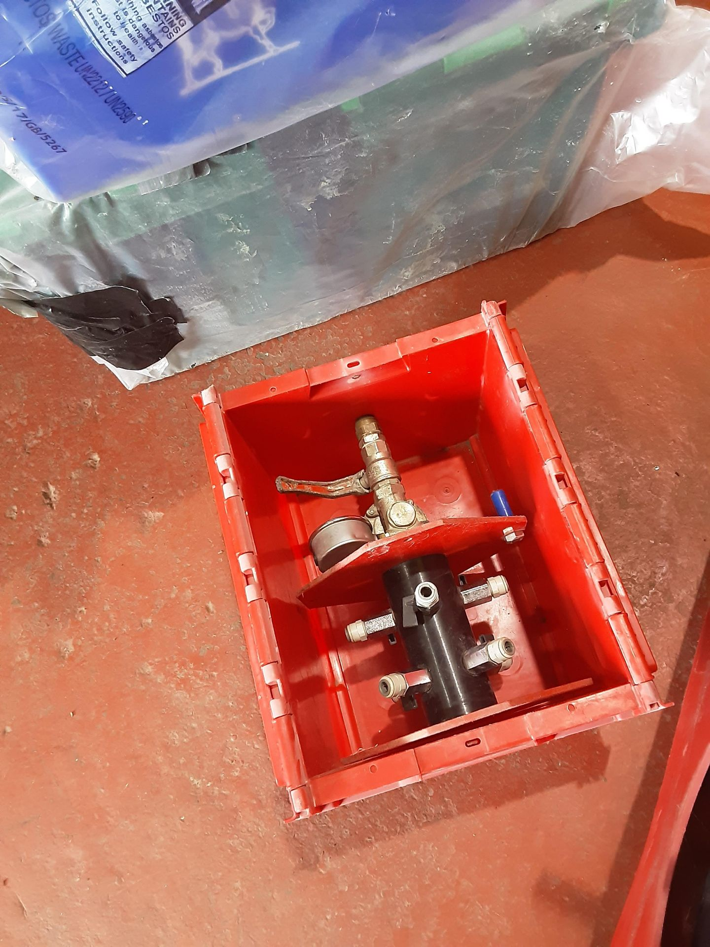 The Red Box Water Injection Machine & Accessories, Serial No. 6062, (2014) - Image 6 of 10