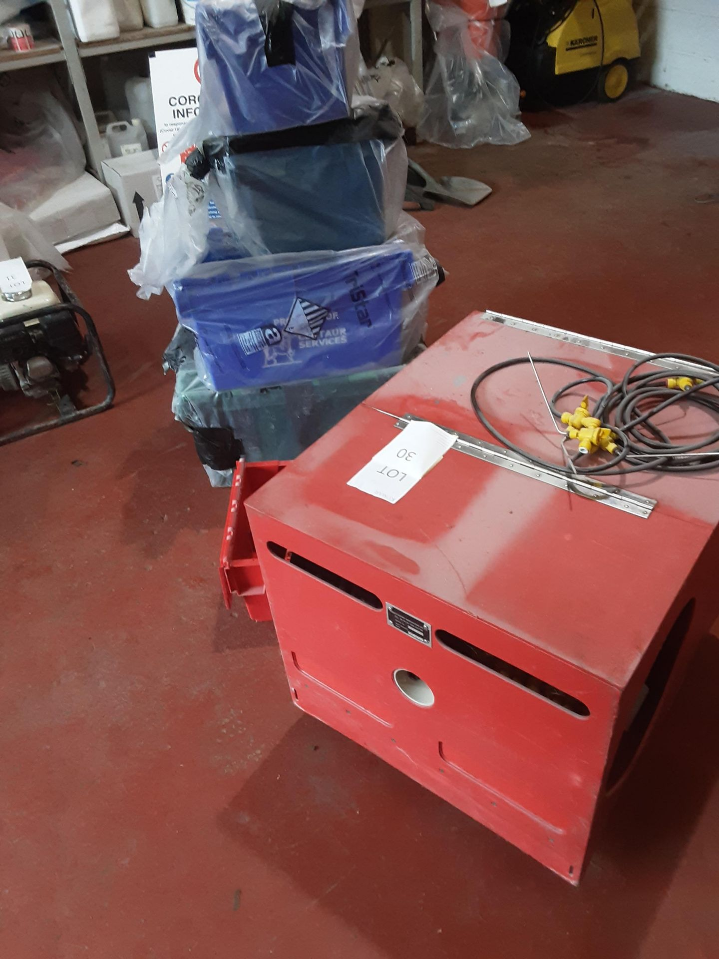 The Red Box Water Injection Machine & Accessories, Serial No. 6062, (2014) - Image 4 of 10
