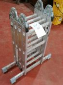 ES131 Aluminium Foldable Step Ladders