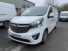 Vauxhall Vivaro 2900 Sportive L2 1,598cc CDTI Bi Turbo, Diesel, 6 Speed Manual LWB Panel Van,