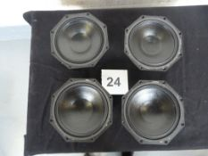 "4x Martin Audio DLS 8001 16 Ohm 8"" LF Driver For W8LM. Ex-hire/Working, Re-coned 2021"
