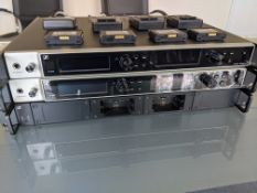 Sennheiser Digital 6000 Series Four Channel System Including Four SK6000, L6000 Charger, A2003 UHF