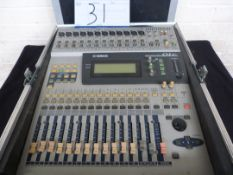 Yamaha 01V Digital Mixing Console With MY4-DA Analog Output Expansion Card, Cased. Used Second