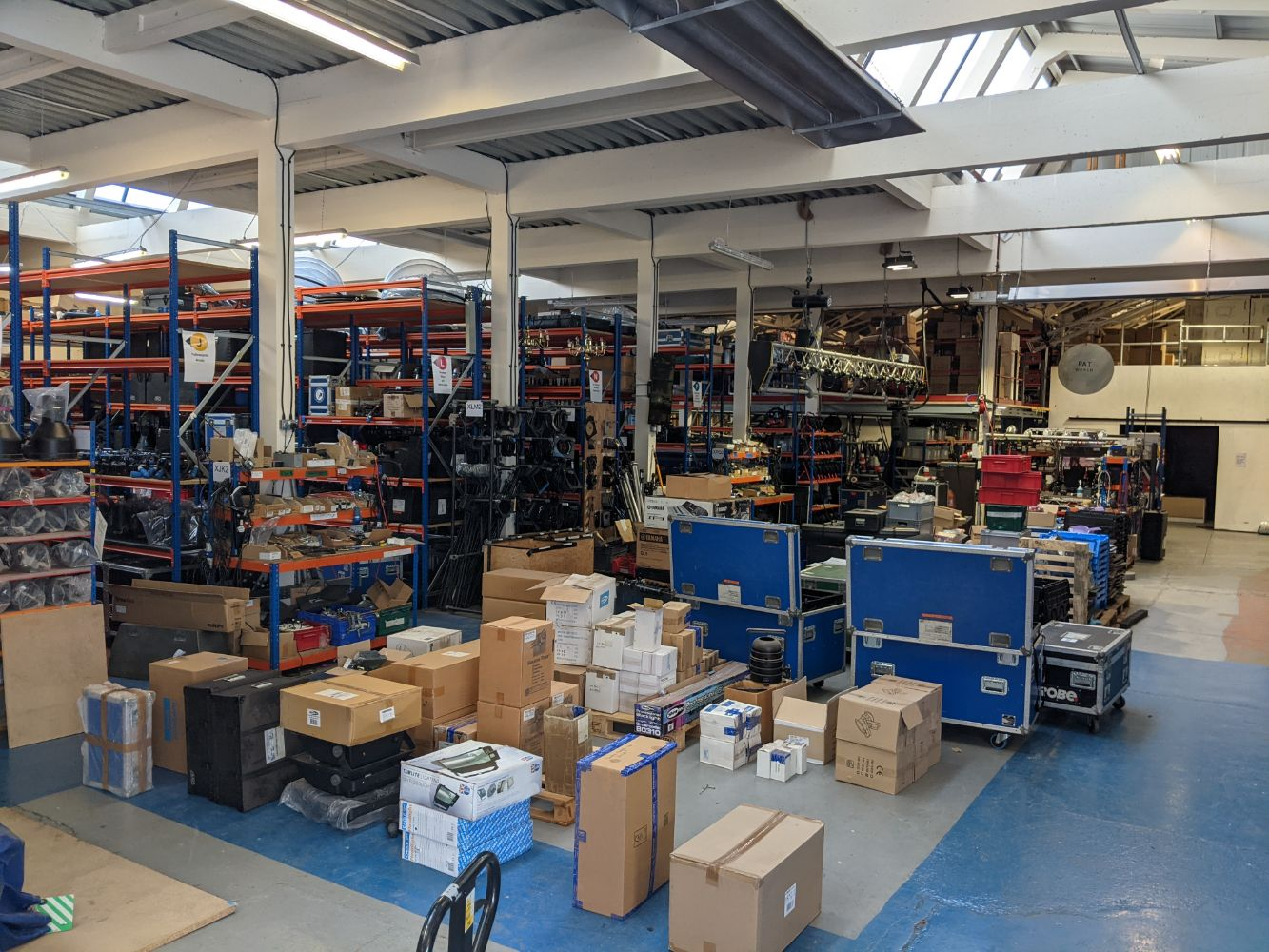 Assets Previously Employed by Enlightened Lighting Ltd, Consistently Maintained Equipment Now Surplus to the Ongoing Business Requirements