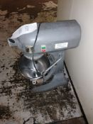 Hobart commercial Mixer with Stainless Steel Mixing Bowl