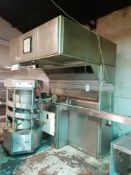 Benier Bread Plant . 4 pot capacity - 900 Large / 3600 rolls per hour . Weight Range 65g - 100g