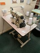 Yamato VC2730 - 164 M sewing machine. Coverstitch with top and bottom trimmer and arms Serial No