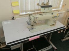 Brother 7200 B Automatic single needle sewing machine Serial No B7DBA 8150