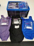 41pc Leotard sizing samples,Various sizes