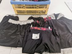 16pc Dance trousers and jackets. Various sizes and designs