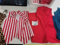 38pc Childrens dresses, waist coats,Jumps suits and skirts.Various designs and sizes