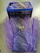 4pc Purple tutu sequin dress, Various sizes