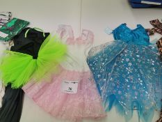 24pc Childrens Catsuits and dresses . Various designs and sizes