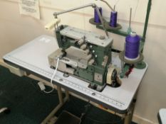 Kansai Special W-8003F Needle cover stitch industrial sewing machine Serial No KS052239