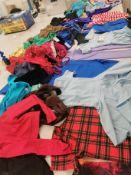100pc Childrens dance clothes ,leotard ,dresses,trousers variuos sizes and designs