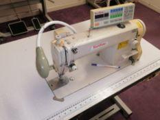 Sunstar KM-250A SPU Lockstitch industrial programable sewing machine Manufactured 2003