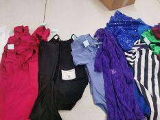 100pc Leotards,dresses,vest,trousers. Various designs and sizes