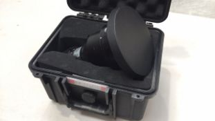 Panasonic ET-DLE 080: 0.8 - 1 : 1 Single Chip DLP Short Throw Lens / Flightcase
