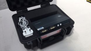 Kramer VM-400HDCP 1:4 DVI DA / PSU / Flightcase