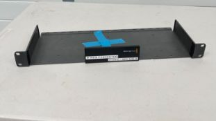 2x Blackmagic Designs Teranex Mini rack panel