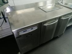 Foster Prem 1/2 H Two Door Refrigerated Counter Se