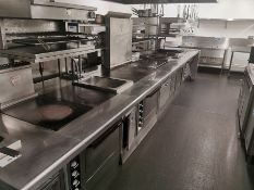 Charvet pro series heavy duty modular cooking rang