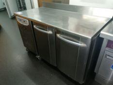 Foster Prem 1/2 H Two Door Refrigerated preperatio