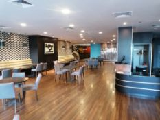 promotional images of opus resturant and kitchen
