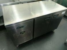 Foster Epro 1/2H Stainless steel 2 door counter re