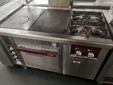 Charvet pro series hot plate oven and hob W 127cm