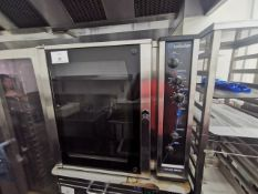 Blue seal turbo fan oven with steam function