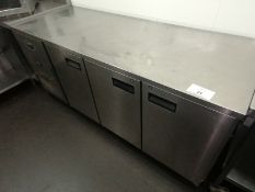 Foster Epro 1/3 H Stainless steel 3 door counter r