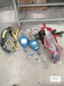 2 x Fall arresters and harnesses