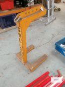 1 X Mild steel Fork Lift frame/stand